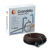 Саморегулирующийся греющий кабель 17Grandeks 2-2м.