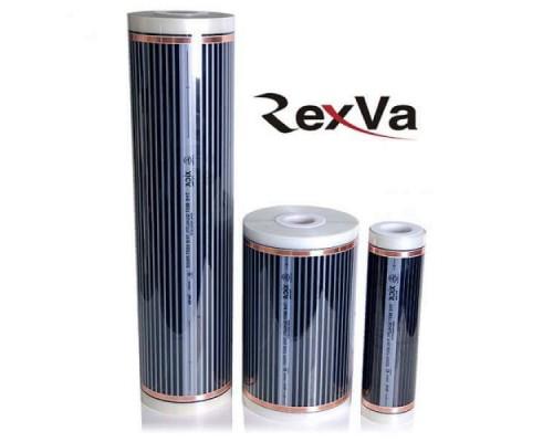 Пленочный теплый пол Rexva Xica. Ширина 80 см., 220 ватт/м2. Толщина 0,338мм 000061 купить в Новосибирске