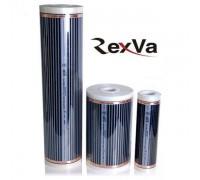 Пленочный теплый пол Rexva Xica. Ширина 100 см., 220 ватт/м2. Толщина 0,338мм  000062