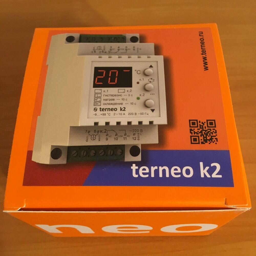 Упаковка Terneo k2